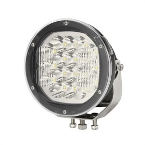 """Ultra Bright 7"""" Round LED Auxiliary Driving Lamp – 7200LM"""