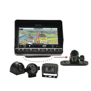 """BAECSSN1 7"""" Reverse Camera System with GPS Navigation System"""