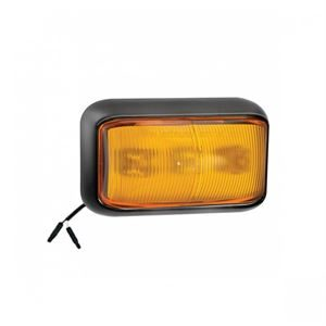 LED Autolamps LED58AM-1E2P – Amber Side Marker Lamp /w 2-Pin Harness Connector (12/24V)