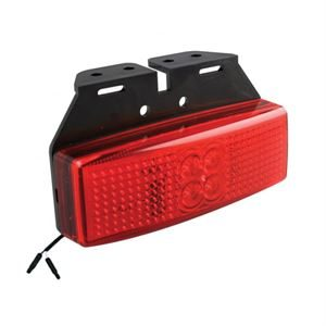 LED Autolamps LED1491RM2P – Rear End Marker Lamp /w 2-Pin Harness Connector and Bracket (12/24V)