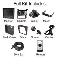 """Guardian Automotive GUCCTV14A – Reversing Aid with 5.6"""" Full Colour Display and Audio"""