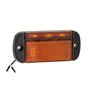 LED Autolamps LED44AME2P – Amber Side Marker (2-Pin Harness Connector) (12/24V)