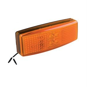 LED Autolamps LED1490AM2P – Side Marker Lamp /w 2-Pin Harness Connector (12/24V)