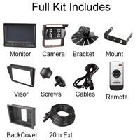 """Guardian Automotive GUCCTV21 – Reversing Aid with 7"""" Full Colour Display and Audio"""