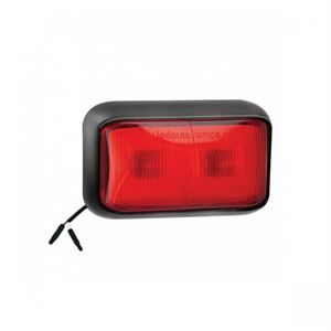 LED Autolamps LED58RME2P – Rear Marker Lamp /w 2-Pin Harness Connector (12/24V)